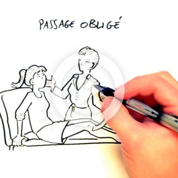 Animation pedagogique dessine sur la douleur : Chepe