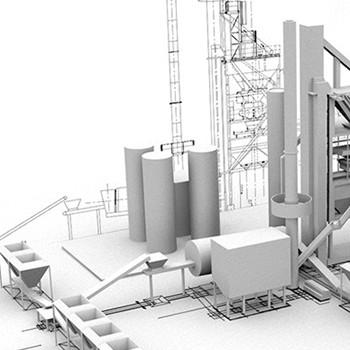 Maquette numérique d'un bâtiment – Asten