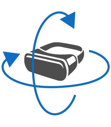 illustration vidéo 360°