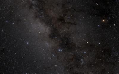Notre ciel d'étoiles basé sur le catalogue Gaia