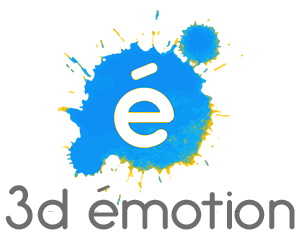 Logo 3d emotion
