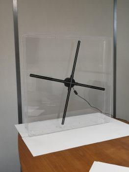 un hologramme hélice protégé