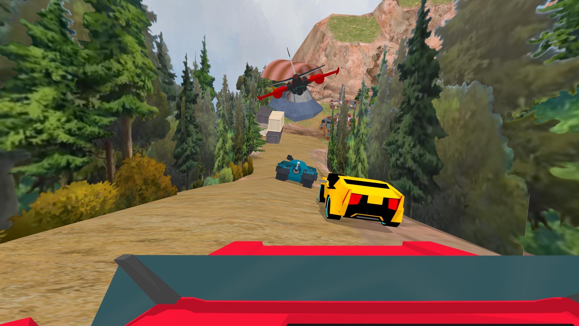 capture de notre film de réalité virtuelle Transformers