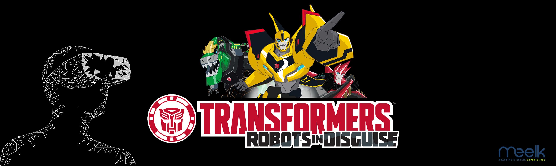 bandeau pour notre film VR Transformers