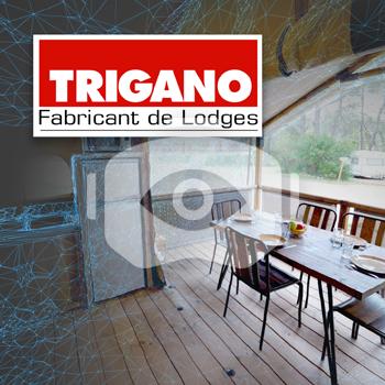 Visite d'un intérieur en réalité virtuelle – Trigano