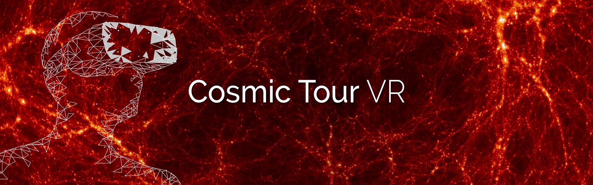 bandeau pour notre production Cosmic Tour VR