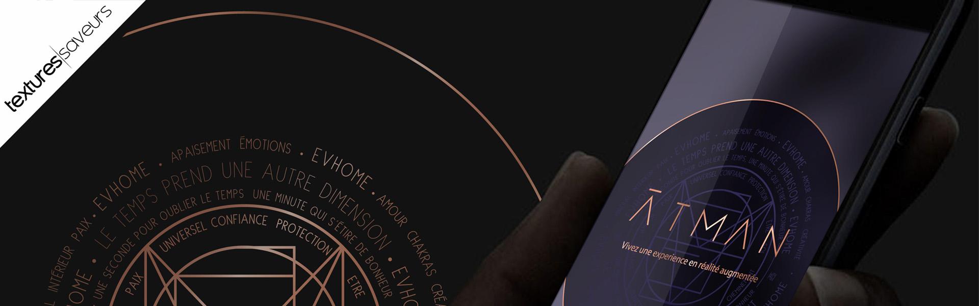 Application réalité augmenté Textures Saveurs bandeau