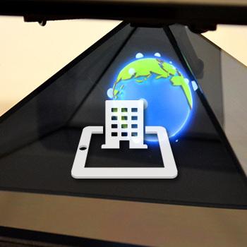 Hologrammes pour événement et scénographie