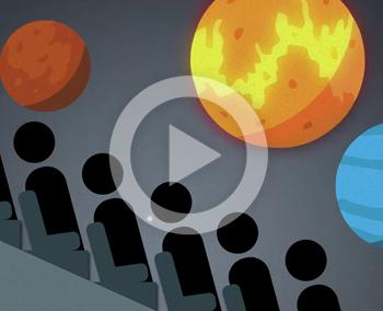 Vidéo de Motion Design – RSA Cosmos Interactive Experience