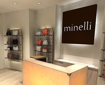 Implantation de magasin – Minelli