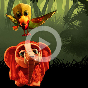 Création de décors animés – L'Odyssée de Moti