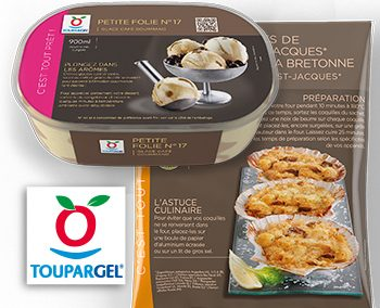 Habillage Packaging – Toupargel