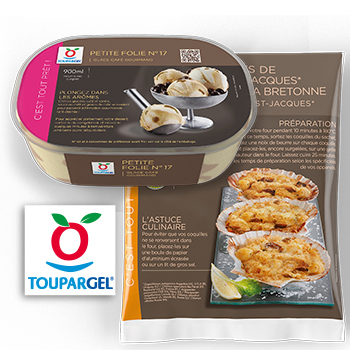Toupargel – Packaging