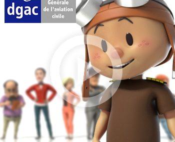 Création de film d'animation sur l'aviation de loisir – DGAC