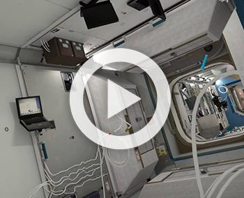 Reconstitution 3D de la station spatiale ISS – RSA Cosmos