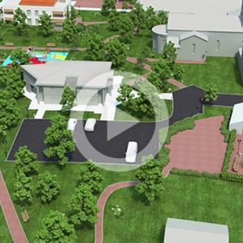 Environnement 3D pour un projet immobilier – Mairie Dommartin